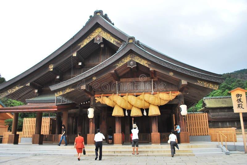 Santuário famoso de Izumo foto de stock