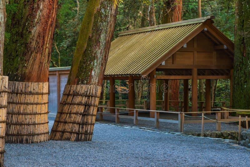 Santuário grande de Ise Jingu NaikuIse - santuário interno em Ise City, Mie Prefecture fotos de stock royalty free