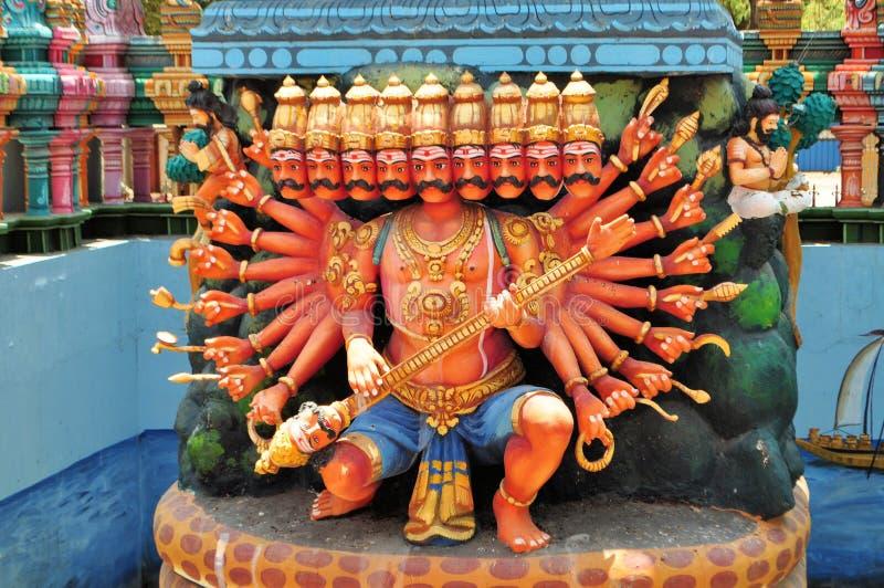Santuário hindu no templo da ilha, Sri Lanka foto de stock royalty free