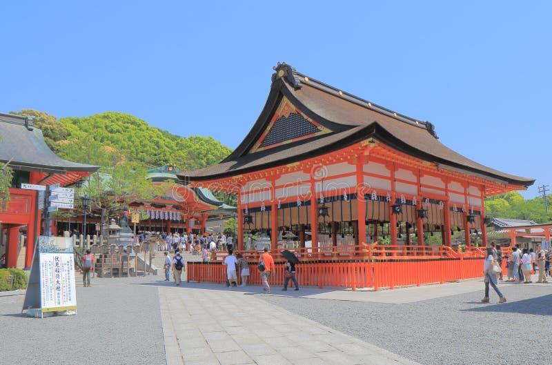 Santuário Kyoto Japão de Fushimi Inari fotos de stock royalty free