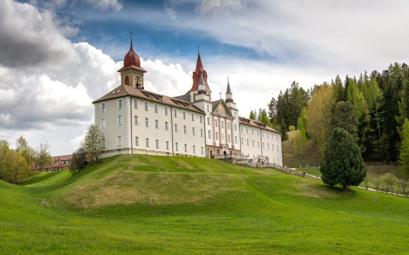 Santuário Madonna de Pietralba, Tirol sul, Itália foto de stock royalty free
