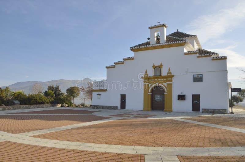 Santuário na cordilheira de Granada fotografia de stock