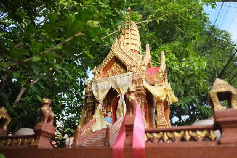 Santuário pequeno tailandês imagem de stock
