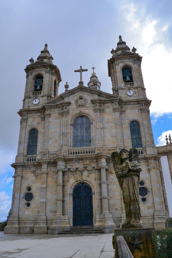 Santuário Sameiro em Braga imagens de stock royalty free