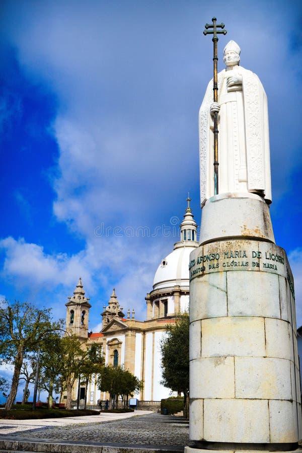 Santuário Sameiro em Braga fotografia de stock