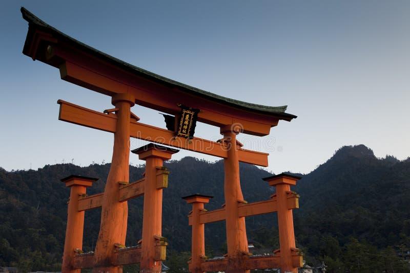 Santuário Xintoísmo De Itsukushima Fotografia de Stock
