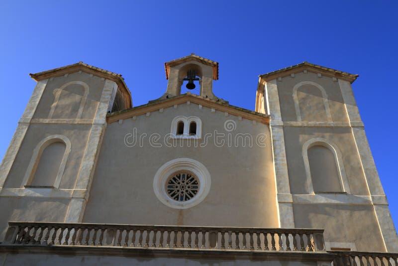 Santuari de桑特萨尔瓦多,阿尔塔,马略卡,西班牙 库存图片