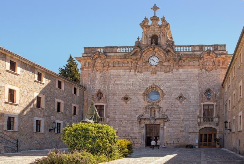 Santuari DE Lluc, Mallorca royalty-vrije stock afbeelding