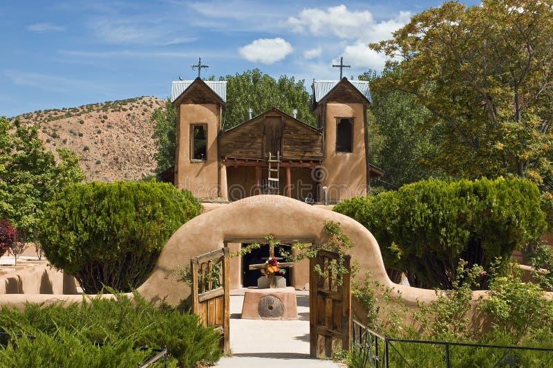 santuario chimayo de el стоковая фотография rf