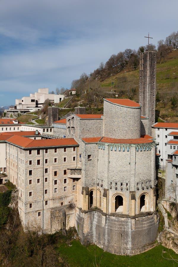 Santuario de Arantzazu fotos de archivo