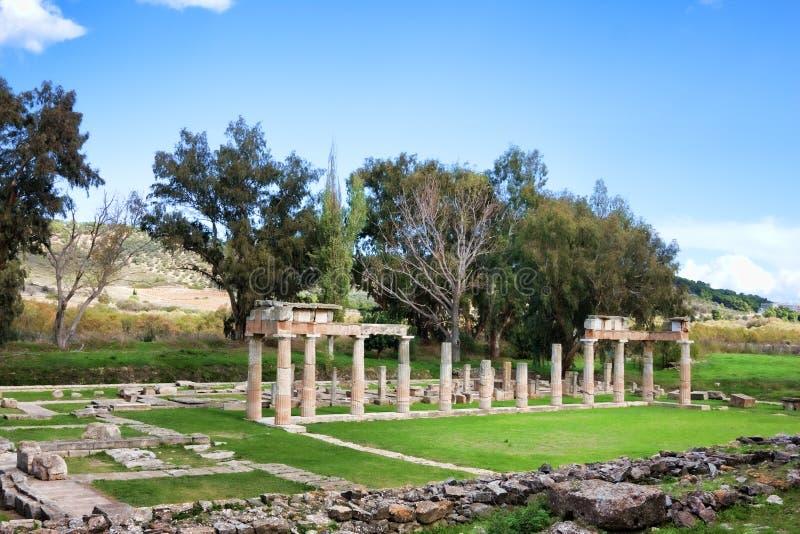 Santuario de Artemis fotografía de archivo