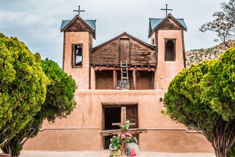 Santuario De Chimayo, Chimayo, Неш-Мексико стоковое фото