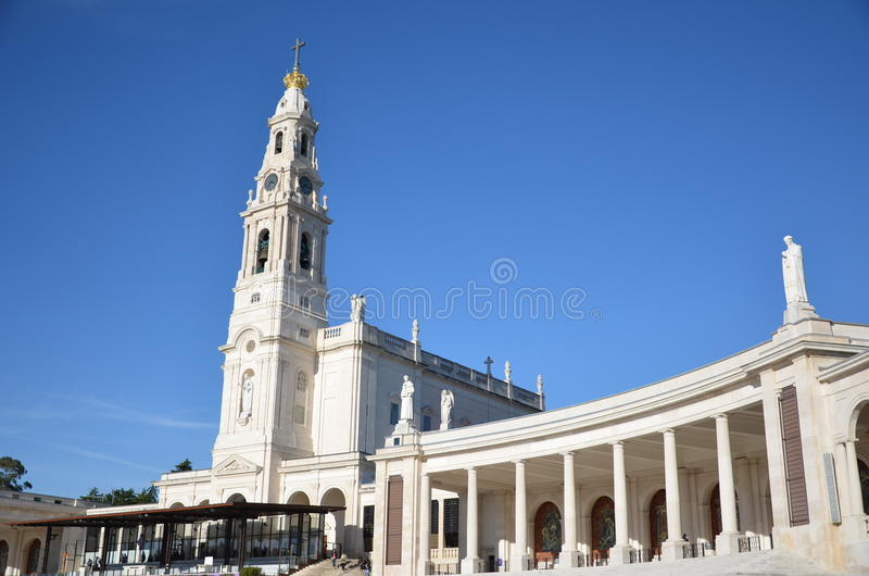 Santuario de Fatima, Portugal fatima fristad royaltyfria foton