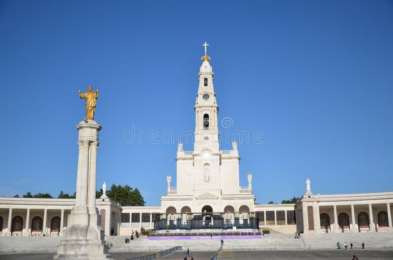 Santuario DE Fatima, Portugal Heiligdom van Fatima royalty-vrije stock afbeelding