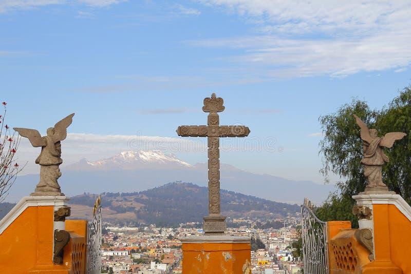 Santuario de los Remedios XIII photo stock