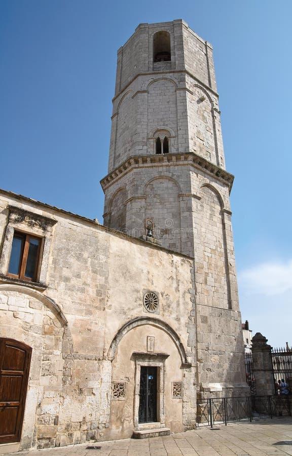 Santuario de Monte Sant'Angelo. Puglia. Italia. imágenes de archivo libres de regalías