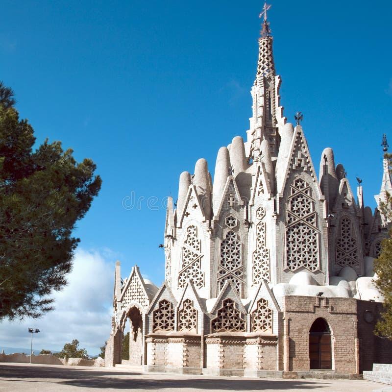 Santuario de Montserrat, Montferri, España imágenes de archivo libres de regalías