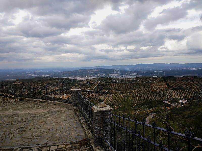 Santuario de Nuestra Señora de Araceli em Lucena, Espanha fotos de stock royalty free