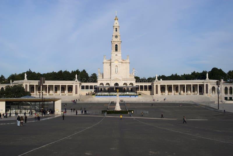 Santuario de nuestra señora de Fátima foto de archivo libre de regalías