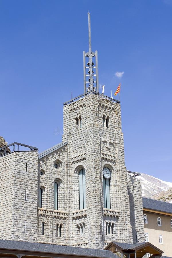 Santuario de Nuria, España foto de archivo libre de regalías