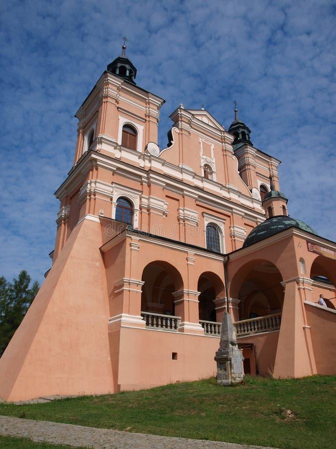 Santuario de Radecznica, Polonia fotografía de archivo libre de regalías