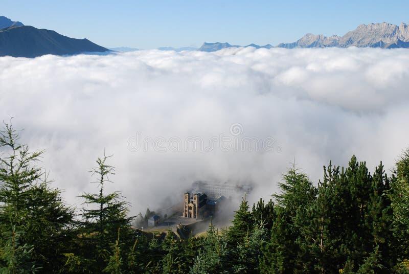 Santuario de Salette del La imagenes de archivo