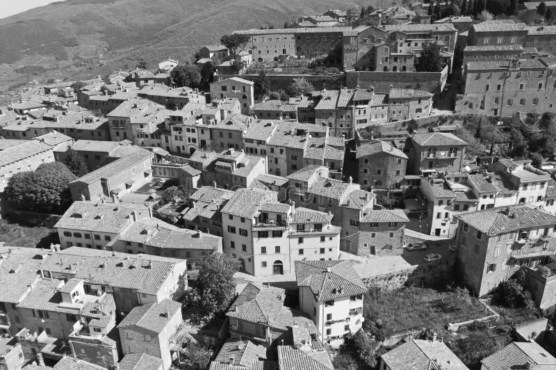 Santuario de Santa Margherita en Cortona foto de archivo libre de regalías