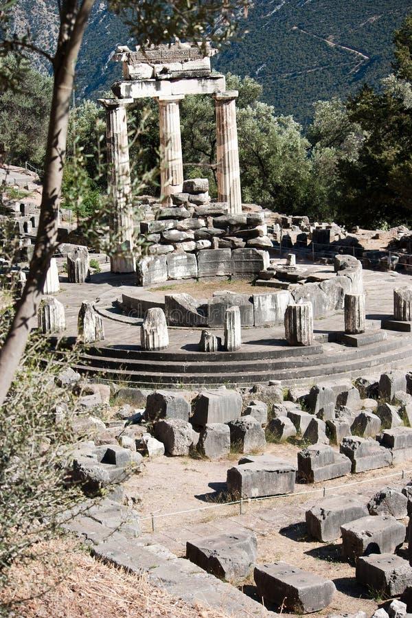 Santuario del Athena fotografie stock