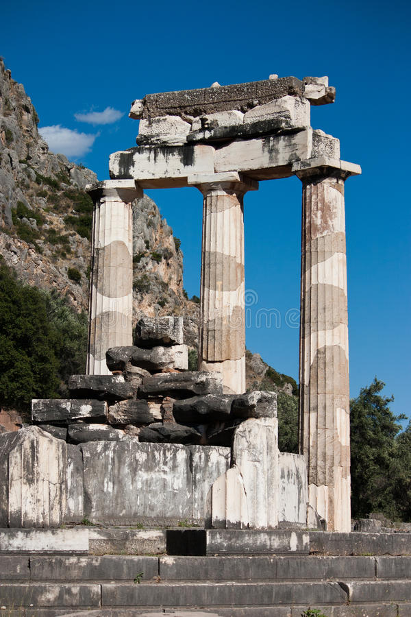 Santuario del Athena fotografia stock libera da diritti