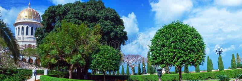 Santuario Del Bab E Dei Giardini A Terrazze, Haifa Fotografia Stock ...