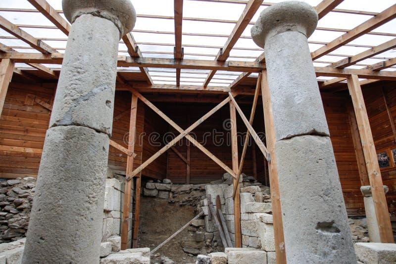 Santuario della Bulgaria Starosel Thracian fotografia stock