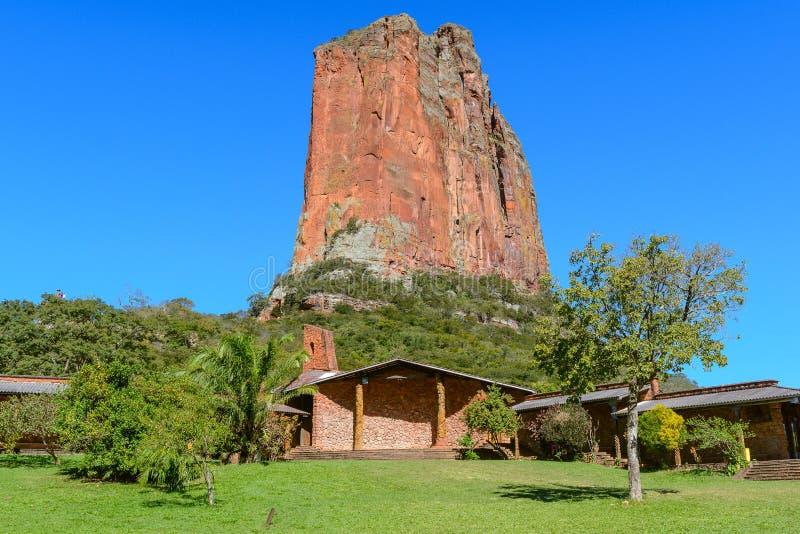 Santuario di Chochis e David Tower, Bolivia immagini stock libere da diritti