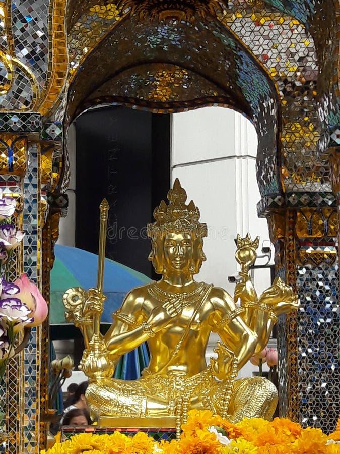 Santuario di Erawan, promenade del ¡ del prà immagine stock