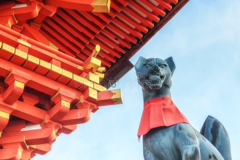 Santuario di Fushimi Inari Taisha a Kyoto, Giappone fotografia stock