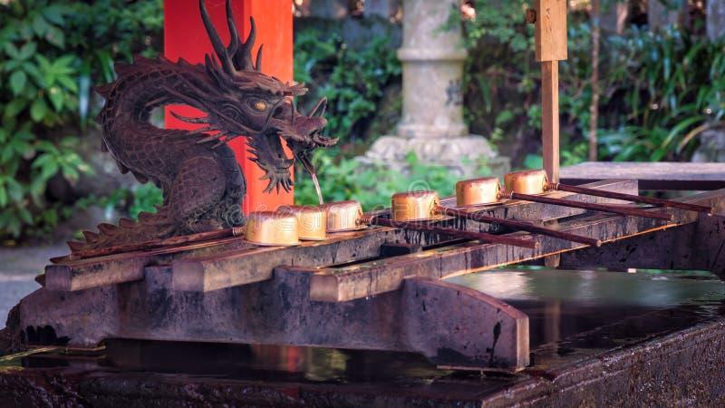 Santuario di Hakone fotografia stock