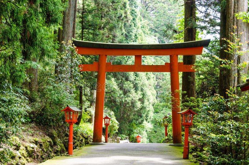 Santuario di Hakone fotografie stock