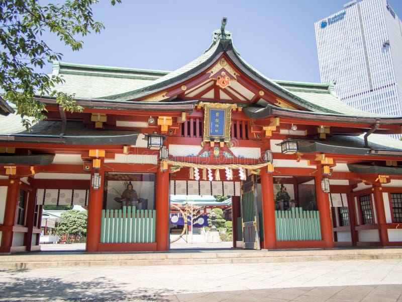 Santuario di Hie Jinja, Tokyo, Giappone immagini stock