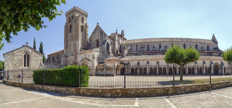 Santuario di Huelgas, Burgos fotografia stock libera da diritti