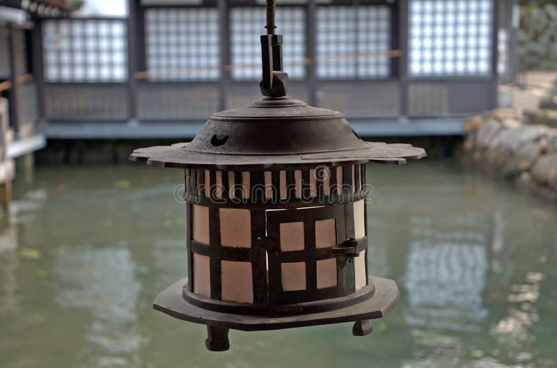 Santuario di Itsukushima, Miyajima, Giappone immagini stock