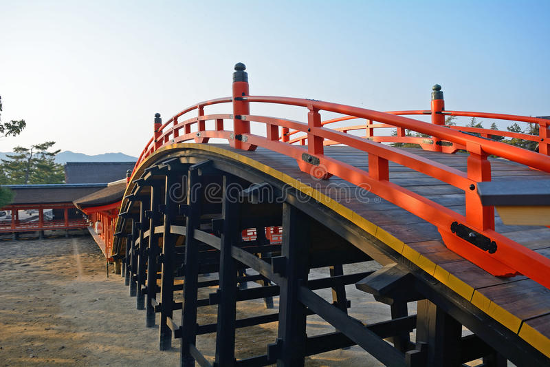 Santuario di Itsukushima, Miyajima, Giappone immagine stock