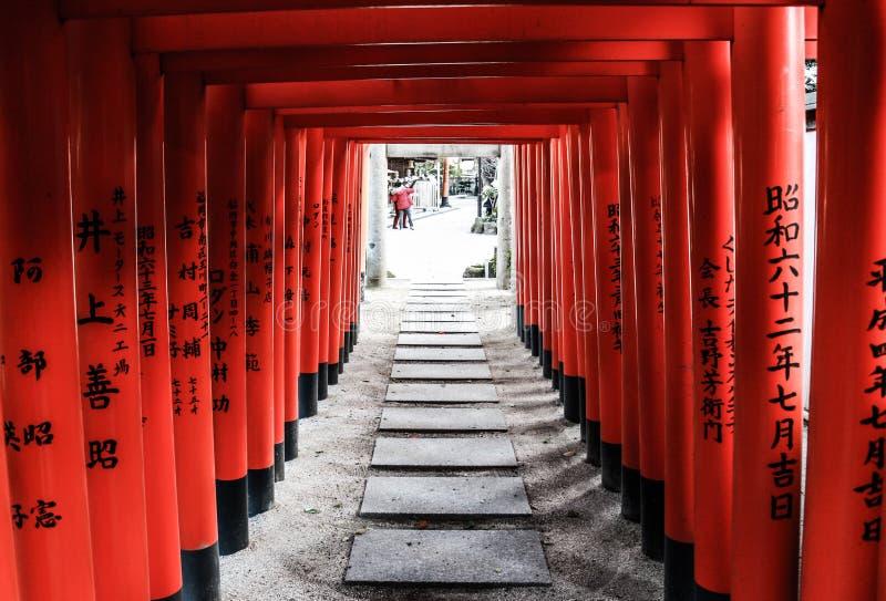 Santuario di Japanses immagini stock
