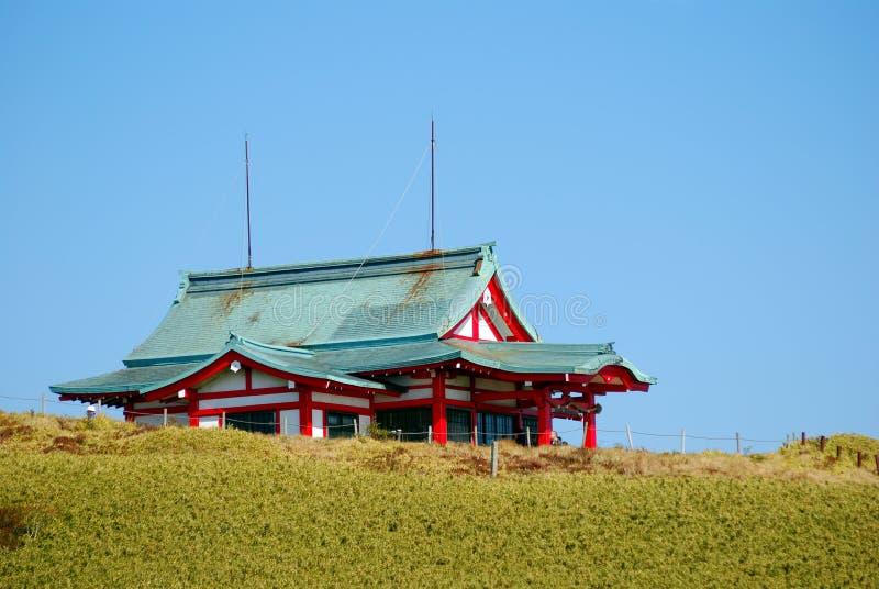 Santuario di Komagatake, Mt. Komagatake, Giappone fotografia stock