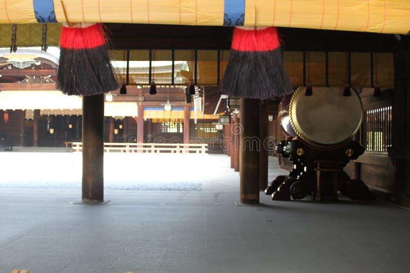Santuario di Meiji-jingu fotografie stock libere da diritti