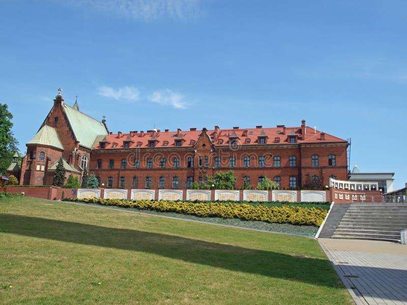 Santuario di misericordia divina in Lagiewniki. Cracovia immagine stock libera da diritti