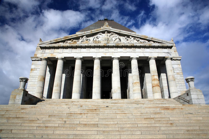 Santuario di Remembrance.Melbourne immagine stock