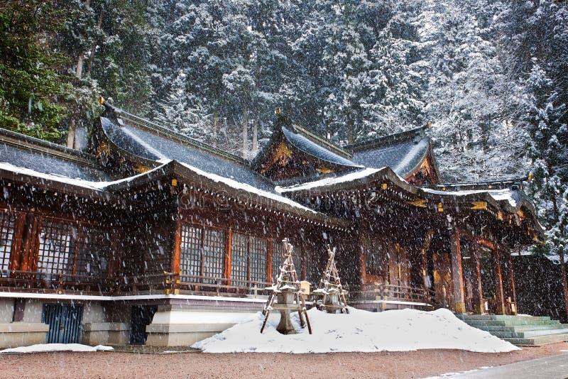Santuario di Sakurayama Hachimangu immagine stock