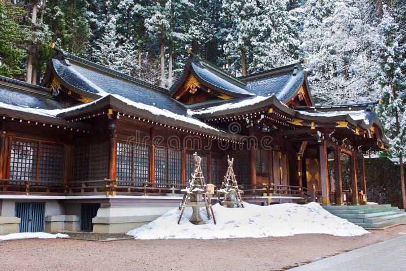 Santuario di Sakurayama Hachimangu fotografia stock