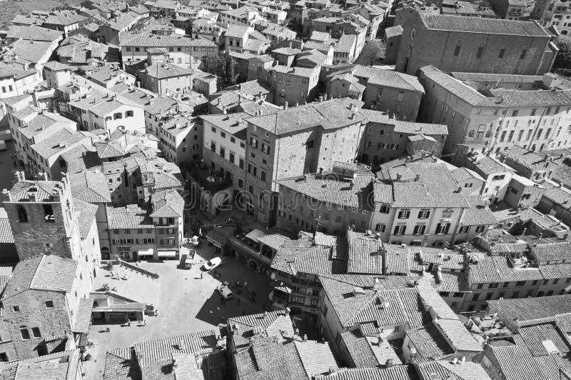 Santuario di Santa Margherita in Cortona immagine stock libera da diritti