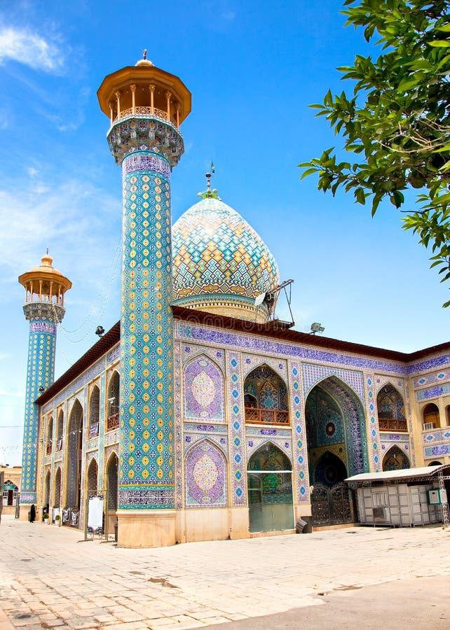 Santuario di Seyed Alaedin Hossein, Shiraz fotografie stock libere da diritti