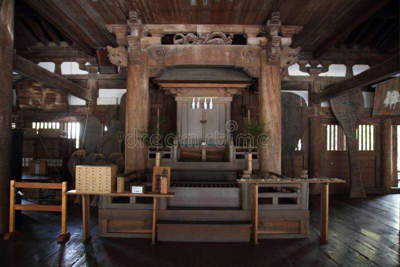 Santuario di Toyokuni a Miyajima fotografie stock libere da diritti